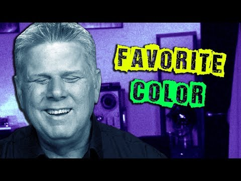 Blind Person's Favorite Color?