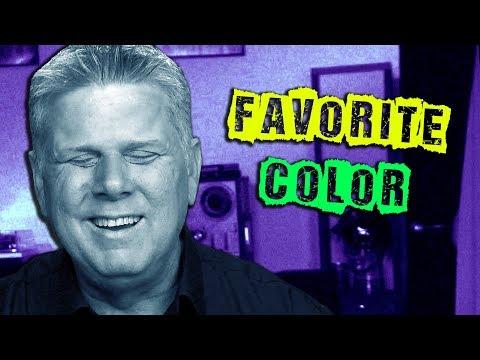 Blind Person's Favorite Color?