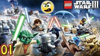 LEGO Star Wars III The Clone Wars PC Gameplay Parte 1 - Com Comentários