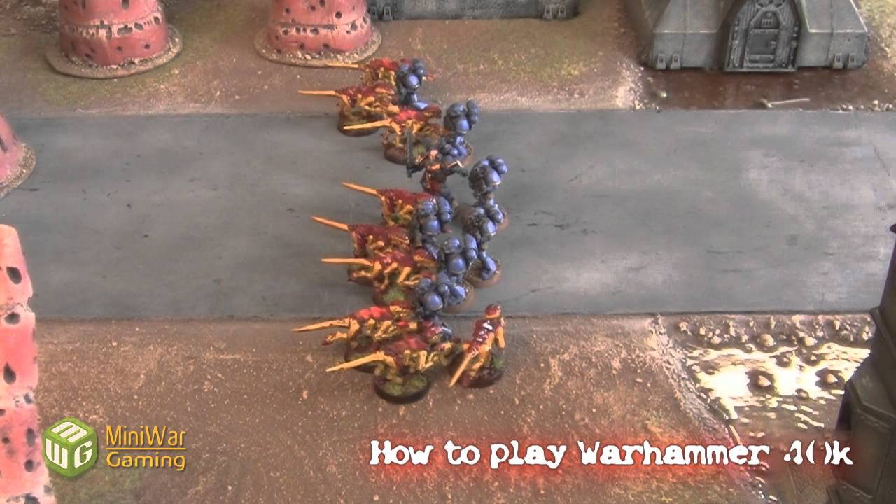 how to play warhammer 40k pdf