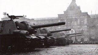Первый День танкиста: 8 сентября 1946 - парад в Москве. / Day tanker 08.09.1946 USSR. Exclusive.