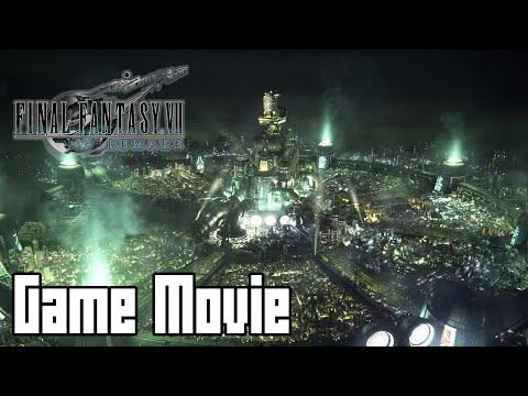 Final Fantasy 7 Remake (All Cutscenes Game Movie , Japanese Voices English Text, No Commentary)