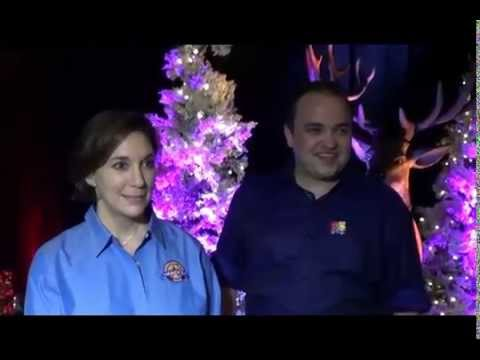 Amy Kule from Macy's and William Blake Interview on Macy's Holiday Parade