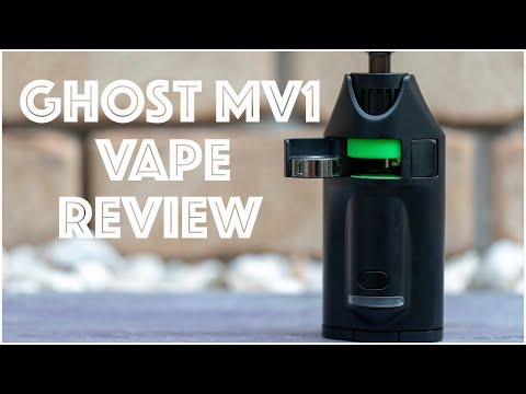 Ghost MV1 Portable Vaporizer Review