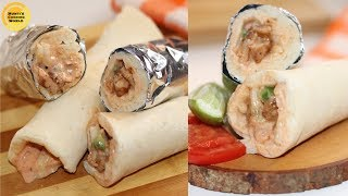 চিকেন শর্মা রেসিপি ॥ Chicken Shawarma Recipe ॥ Bangladeshi Chicken Shawarma ॥ How To Make Shawarma