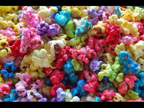 Palomitas de colores color popcorn r pido y sencillo 5 - Como hacer palomitas de caramelo caseras ...