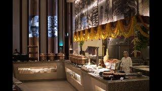 5 star hotel buffet tour | Holiday Inn | Saptami Restaurant | Mumbai Airport |