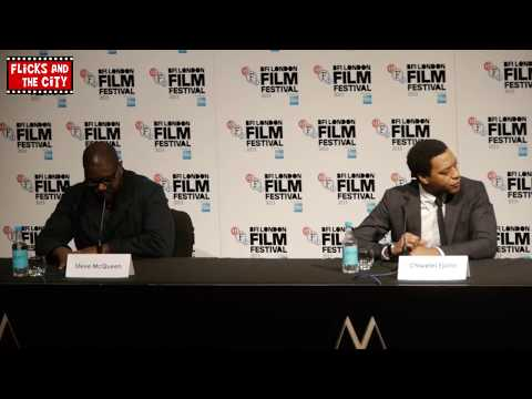 12 Years A Slave Press Conference Interviews - Steve McQueen & Chiwetel Ejiofor