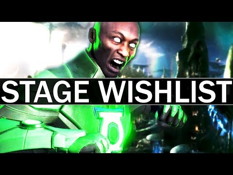 Injustice 2 - 5 NEW Stages Wishlist!