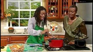 Kim-marie Spence's Lentil Pasta With Garlic Bread - Grace Foods Creative Cooking