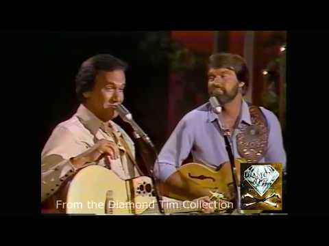 Glen Campbell Roger MIller ~ In The Summertime Dang Me England Swings 1982 LIVE!