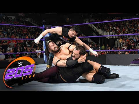 Neville responds to Austin Aries making him tap out: WWE 205 Live, May 30, 2017