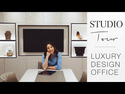 LUXURY STUDIO TOUR - INTERIOR DESIGN - HOME TOUR - Behind The Design - Episode 4
