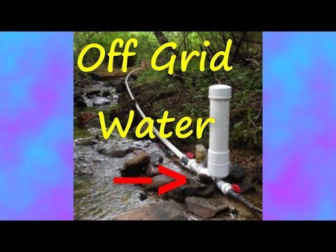 Off Grid Water using Solar Power