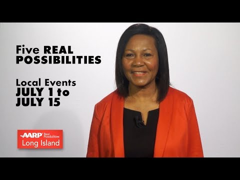 AARP FIVE REAL POSSIBILITIES JULY 1  to JULY 15