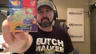 Chris Hawkey Eats Full Box of Bean Boozled Jelly Beans