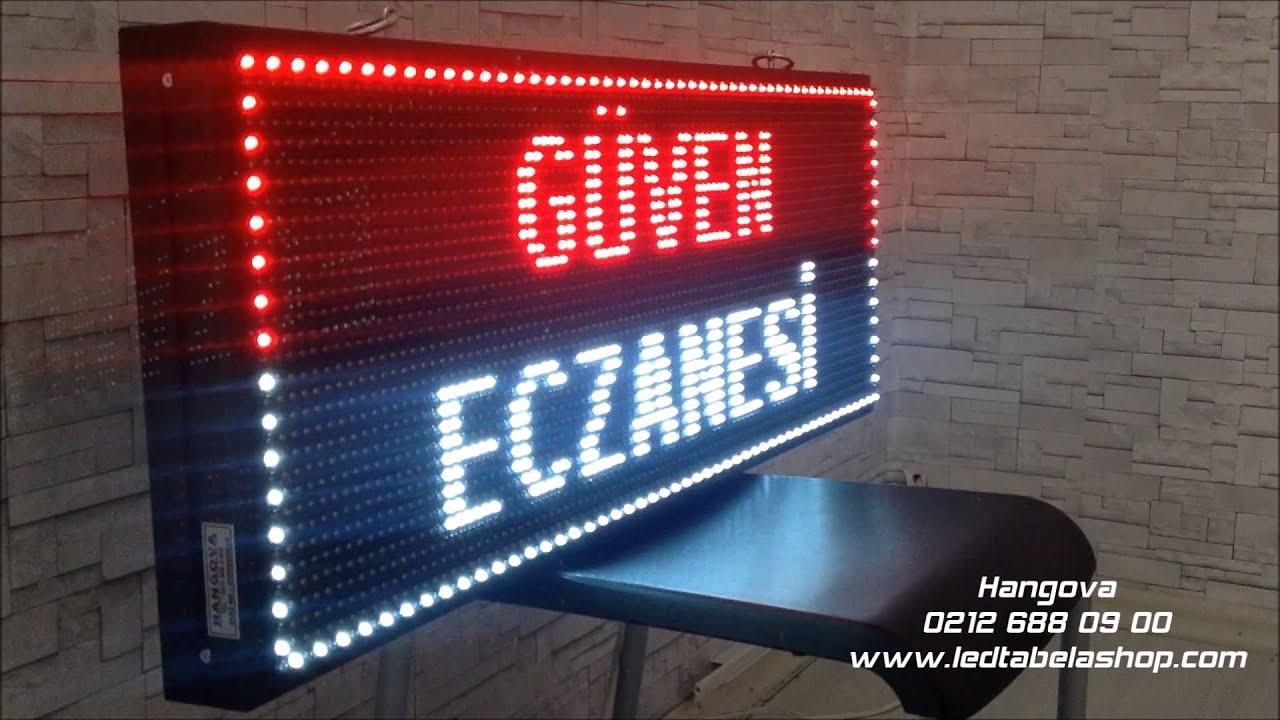 Hangova Akıllı Led Tabela - Eczane Tabelası