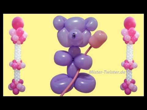 poodle balloon animal instructions