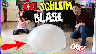 XXL Schleim Blase!! Giant slime bubble - größer geht nicht! Alles Ava