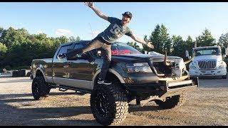 Driving This TERRIFYING TRUCK! - 'MERICA King Ranch F150