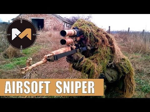 СНАЙПЕР С СВД-С. СТРАЙКБОЛ // SVD-S ACTION. AIRSOFT