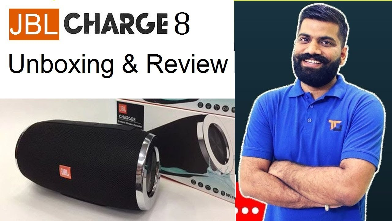 Jbl Charge 8 Waterproof Portable Bluetooth Speaker Unboxing Review Charger 8plus New Mini