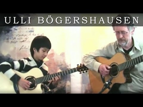 Ulli Boegershausen and Sungha Jung - Approaching Dark (by Phil Shackleton)