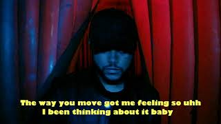The Weeknd - Life Of The Party (Lyrics Video)