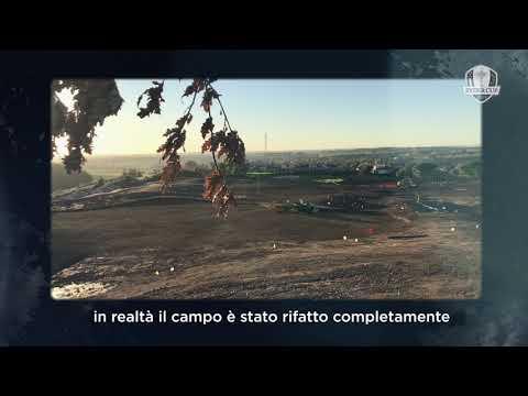 RYDER CUP, il nuovo percorso romano del Marco Simone Golf