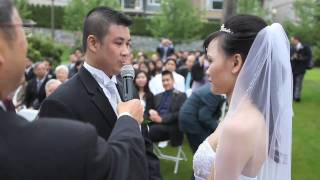 Beautiful Chinese Civil Wedding in Vancouver BC