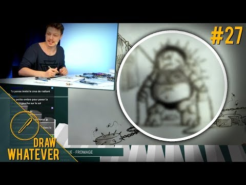 Défi dessin : ChaineTortueFromage  Draw Whatever #27