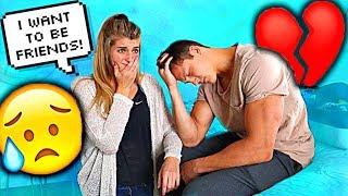 Telling My Boyfriend I want to be Just Friends PRANK!