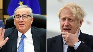 BREXIT | Boris Johnson to hold talks with EU's Jean-Claude Juncker Monday as Brexit deadline looms Video