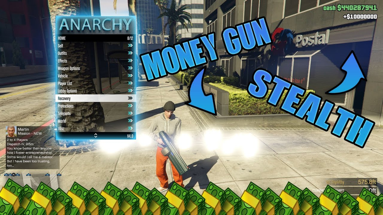 GTA 5 ONLINE MOD MENU ANARCHY 1 46[UNDETECTED][MODDED  OUTFITS][TROLL][PC]+DOWNLOAD