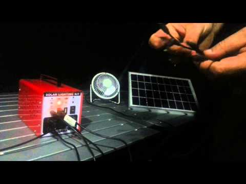 Bivvy power, Solar powered camping.  Lighting and
