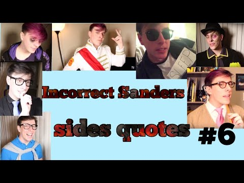 Incorrect Sanders Sides Quotes #7