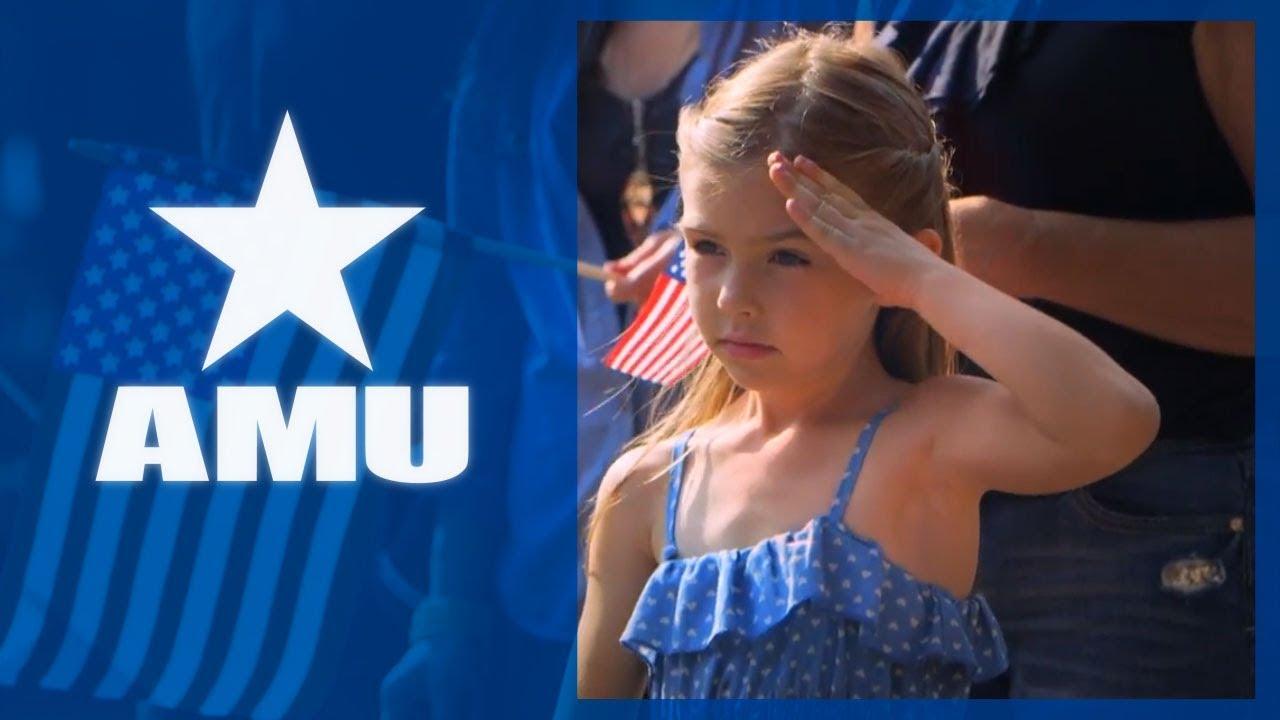 we salute you american military university amu youtube