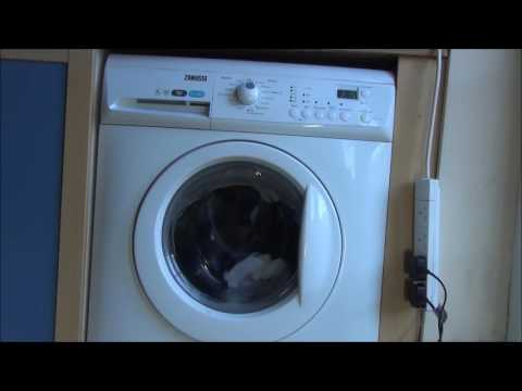 Zanussi Aquafall ZWHB7160 Washing Machine : Cotton 40'c half load