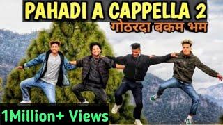 Gambar cover Pahadi A Cappella 2    Gothar Da Bakam Bham    Dance Video    Anoop Parmar × Nikhil × Ajeet × Guddu