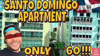 Gambar cover SANTO DOMINGO AIRBNB APARTMENT | LESS THAN $60!!! | TOUR & REVIEW
