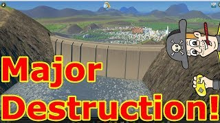 Cities Skylines Huge Dam Breach!