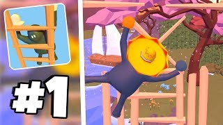 THIS IS SO SATISFYING! - Clumsy Climber Gameplay Part 1 (New TOP 10 App Store Game)
