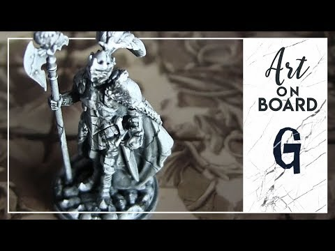 Art on board   miniature effetto pietra con una spugnetta