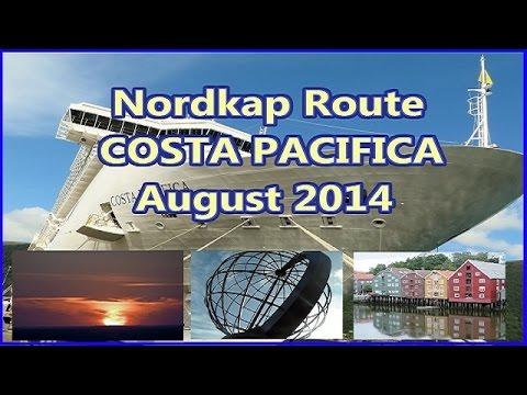Nordkap COSTA PACIFICA August 2014