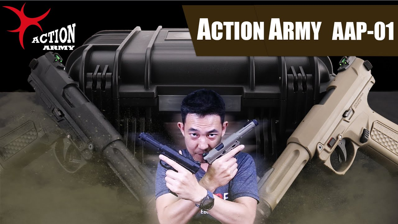 ACTION ARMY AAP-01 Assassin GBB ยิงรัวได้!!!