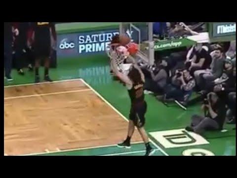 Cedi Osman missed dunk! Cavs player Cedi Osman wide open missed dunk vs Celtics!
