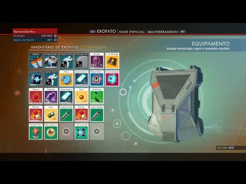 NO MAN's SKY - flying my new spaceship for the 1st time (PS4)