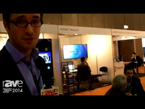 ISE 2014: HUMElab Showcases TABATA Touch Table