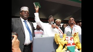 'Why I Swore in Raila', Miguna Miguna  Speaks