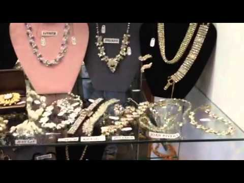 Vintage costume jewelry collection, designer signed
